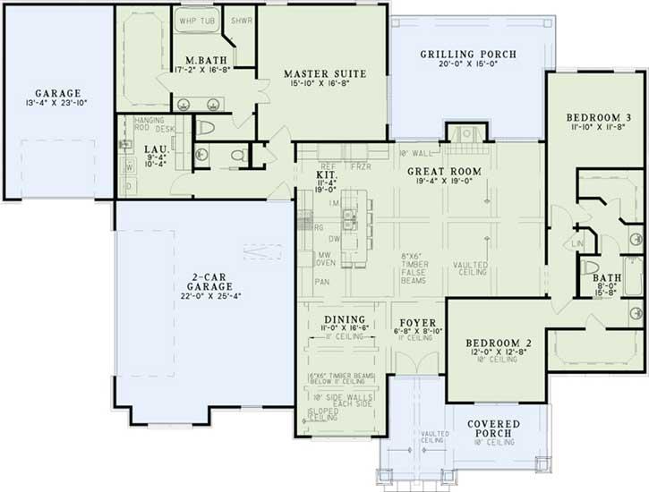 Main Floor Plan: 12-1317