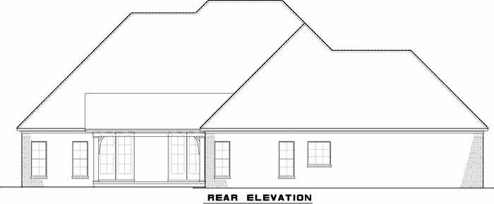 Rear Elevations Plan:12-1317