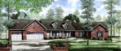 Southern Style Floor Plans Plan: 12-132