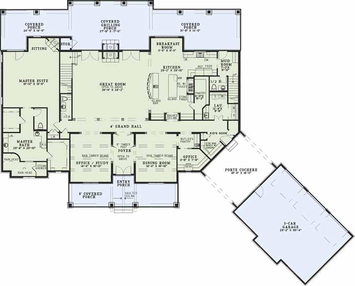 Main Floor Plan: 12-1320