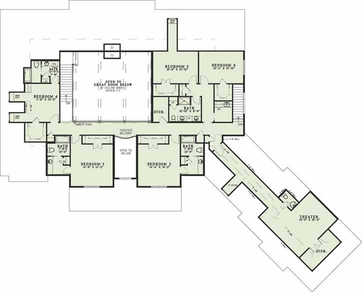 Upper/Second Floor Plan: 12-1320