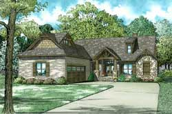Mountain-or-Rustic Style House Plans Plan: 12-1329