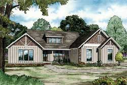 Mountain-or-Rustic Style House Plans Plan: 12-1341