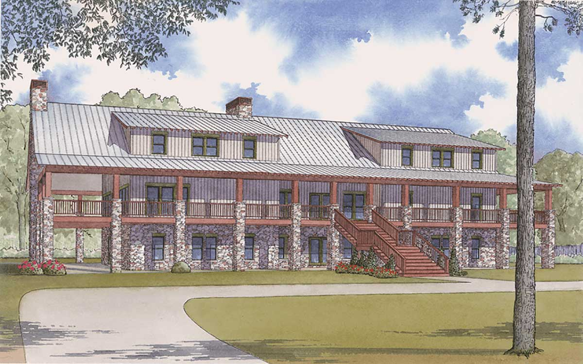 Country House Plan 11 Bedrooms 10 Bath 7998 Sq Ft Plan 12 1373