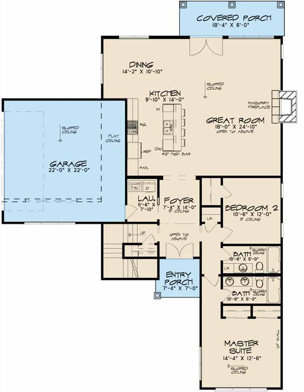 Main Floor Plan: 12-1374