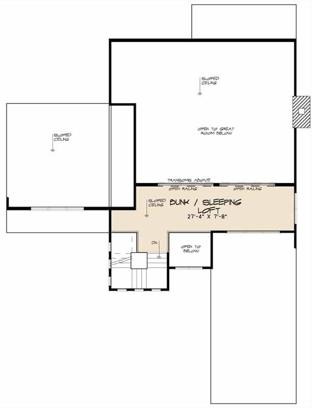 Upper/Second Floor Plan: 12-1374