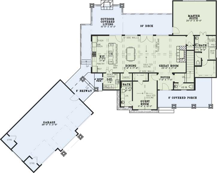 Main Floor Plan: 12-1383