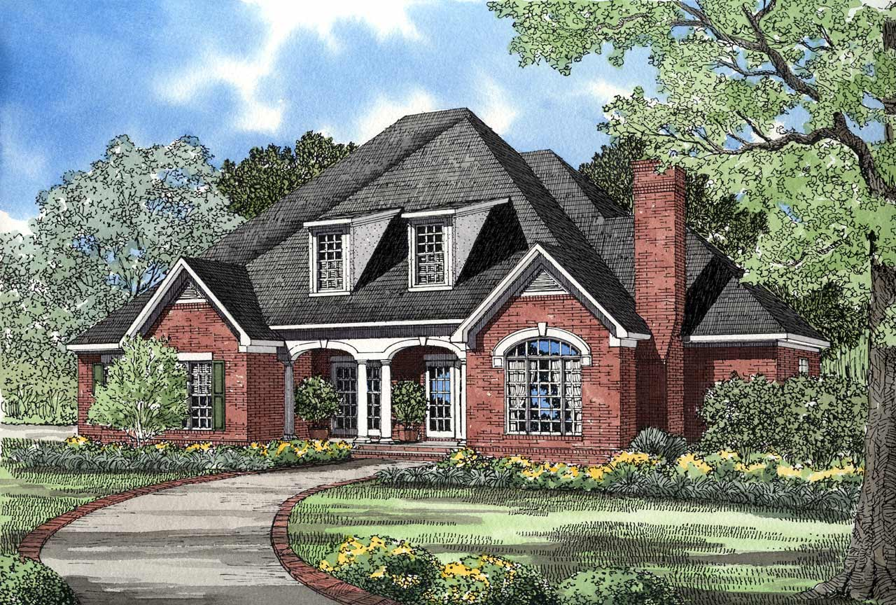Southern Style House Plans Plan: 12-139