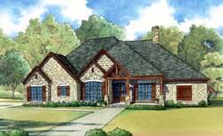 Craftsman Style Floor Plans Plan: 12-1392
