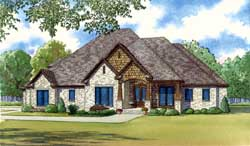 Traditional Style Floor Plans Plan: 12-1395