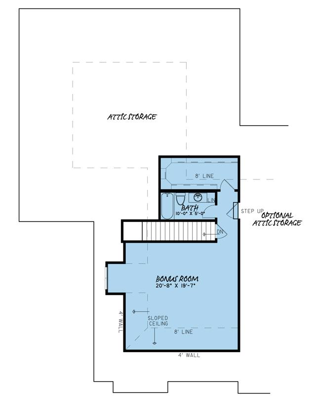 Upper/Second Floor Plan: 12-1395