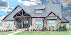 Mountain-or-Rustic Style House Plans Plan: 12-1397