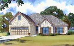 Traditional Style House Plans Plan: 12-1401