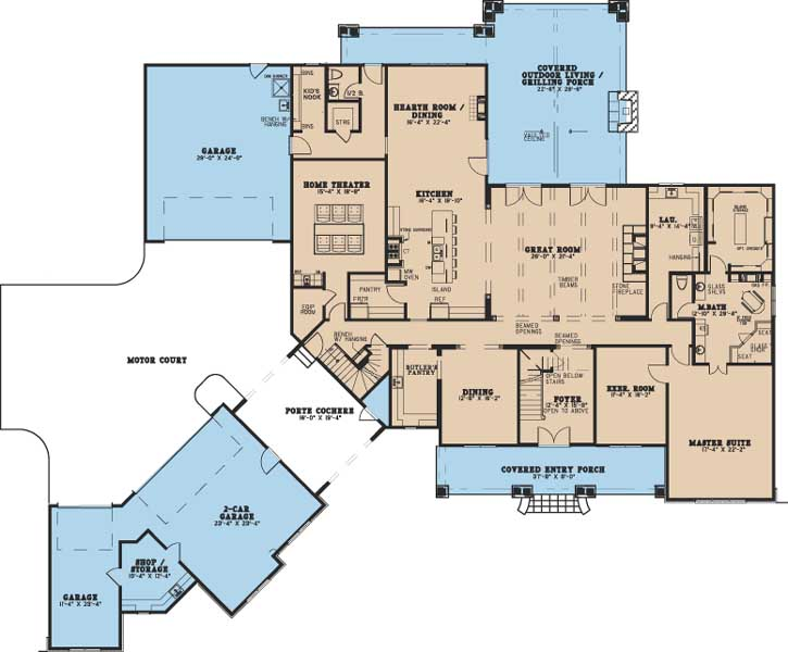Main Floor Plan: 12-1402