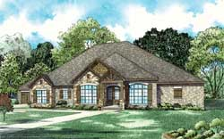 Mountain-or-Rustic Style House Plans Plan: 12-1408