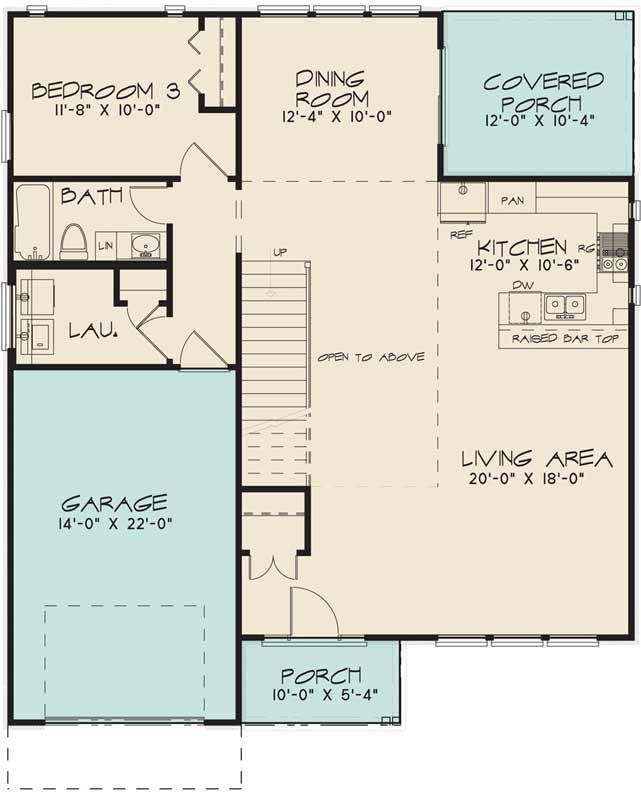Main Floor Plan: 12-1427
