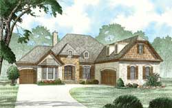 European Style Floor Plans Plan: 12-1453