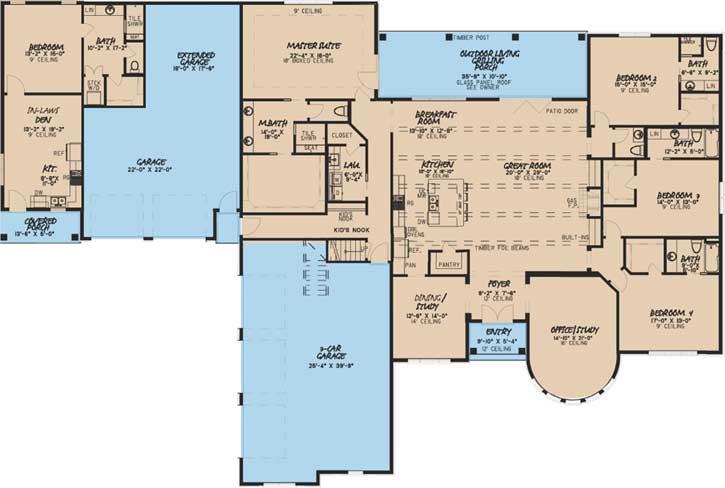 Main Floor Plan: 12-1472