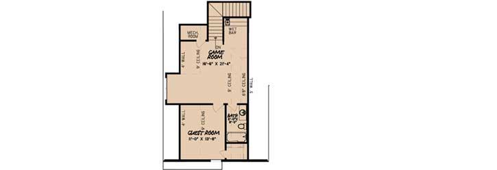 Upper/Second Floor Plan: 12-1472