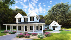 Modern-Farmhouse Style House Plans Plan: 12-1477