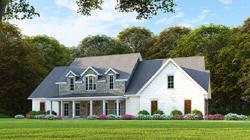 Modern-Farmhouse Style Home Design Plan: 12-1482