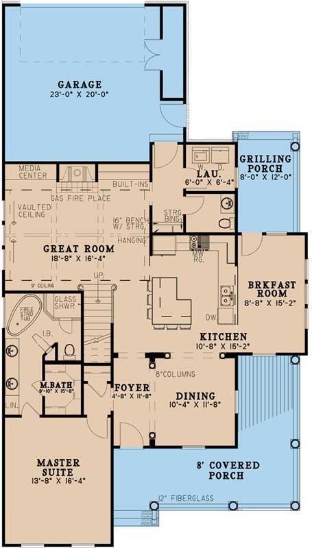 Main Floor Plan: 12-1483