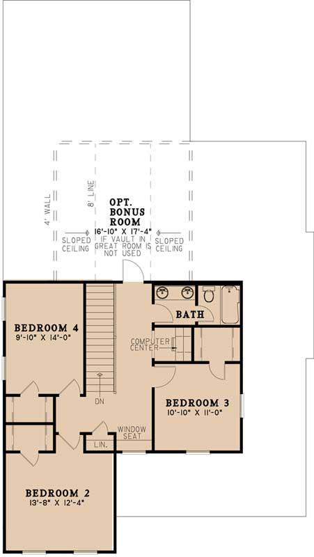 Upper/Second Floor Plan: 12-1483