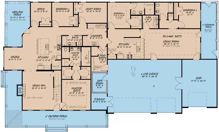 Main Floor Plan: 12-1484