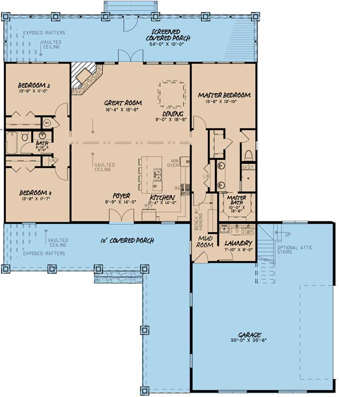 Main Floor Plan: 12-1486