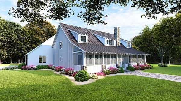Modern-farmhouse Style Home Design