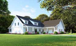 Modern-Farmhouse Style House Plans Plan: 12-1486
