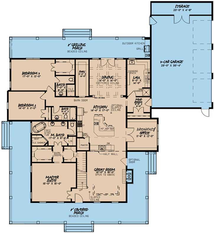 Main Floor Plan: 12-1494