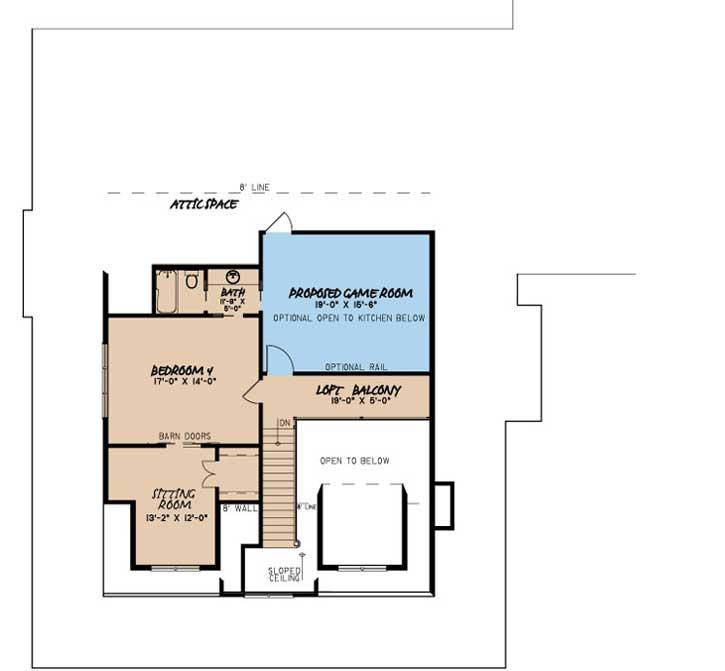 Upper/Second Floor Plan: 12-1494