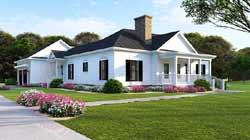 Modern-Farmhouse Style Floor Plans Plan: 12-1496