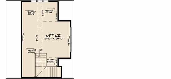 Upper/Second Floor Plan: 12-1496