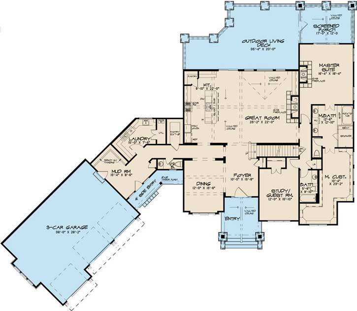 Main Floor Plan: 12-1498