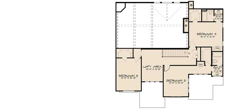 Upper/Second Floor Plan: 12-1498