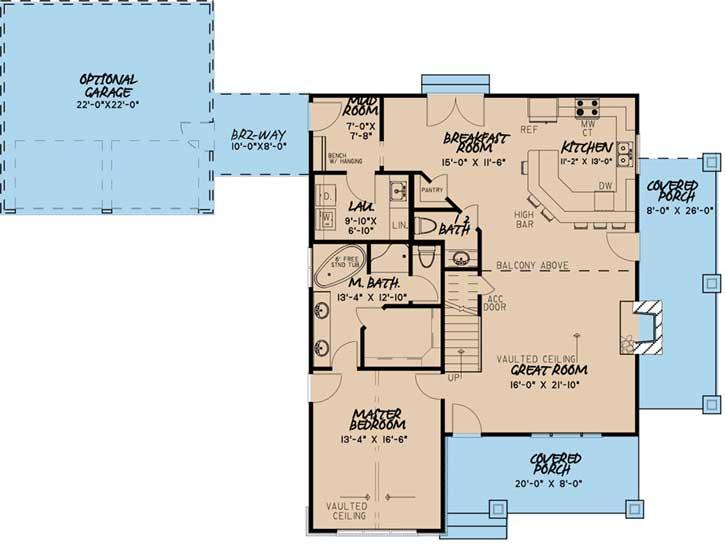 Main Floor Plan: 12-1499