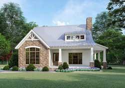 Bungalow Style House Plans Plan: 12-1499