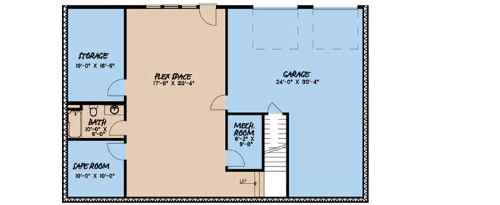 Lower Floor Plan: 12-1501
