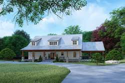 Modern-Farmhouse Style Floor Plans Plan: 12-1501