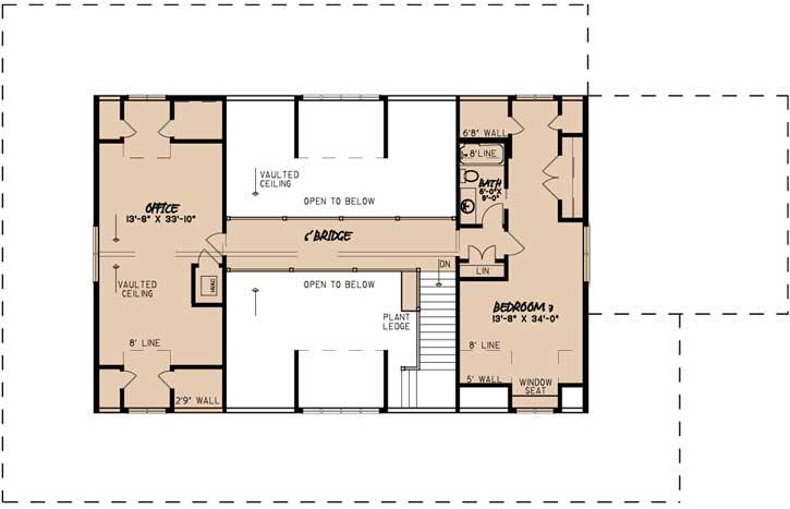 Upper/Second Floor Plan: 12-1501