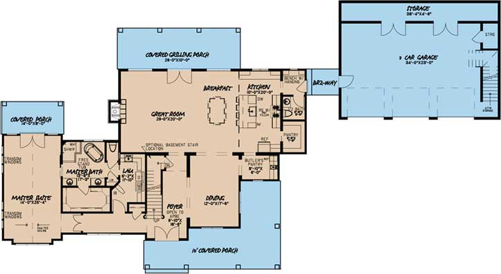 Main Floor Plan: 12-1505