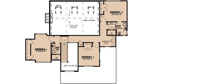 Upper/Second Floor Plan: 12-1505