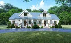 Modern-Farmhouse Style House Plans Plan: 12-1508