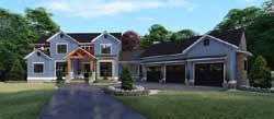 Modern-Farmhouse Style Floor Plans Plan: 12-1510
