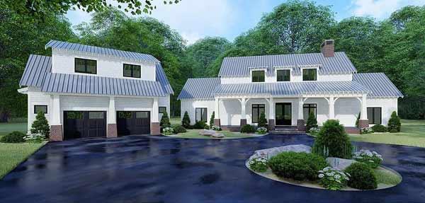 Modern-farmhouse Style Floor Plans Plan: 12-1511