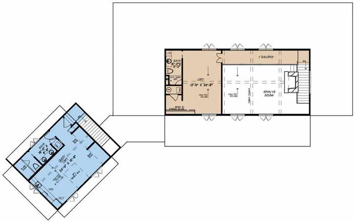 Upper/Second Floor Plan: 12-1511
