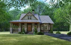 Craftsman Style House Plans Plan: 12-1514