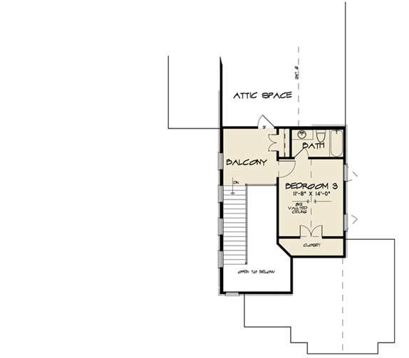 Upper/Second Floor Plan: 12-1515